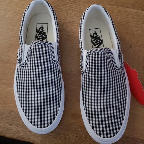 Vans Shoes   Vans Gingham Size 75